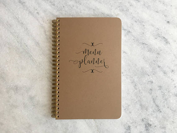 Simple Bound Meal Planner